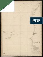 Mapa Desde Cabo Bojador á Cabo Verga y Las Islas Caboverdianas (BDH-BNE) 0000013950