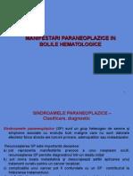 -Manifestari paraneoplazice