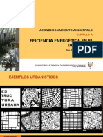Eficiencia Energética en El Urbanismo (1)
