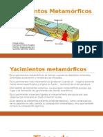 YACIMIENTOS METAMORFICOS