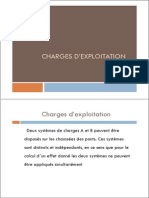 Charges d Exploitation