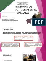 Sindrome de Malnutricion en El Anciano