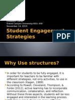 edu 450 student engagement strategies