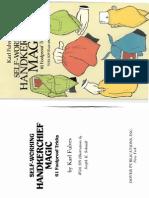 Karl Fulves - Self-Working Handkerchief Magic.pdf