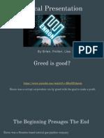 ethical presentation