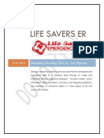life savers er - marketing strategy plan