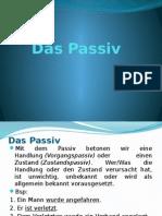 Das Passiv - Prezentation
