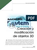 Tema 18 Creacion y Modificacion de Objetos 3d