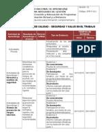 Cronograma Propuesto Para Formacion Complementaria