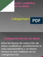 Categorización de Los Datos