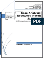 Rosewood Case Analysis
