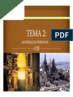 Tema 2 Materiales Ferrosos