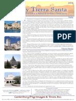Italia y Tierra Santa | Canterbury Pilgrimages
