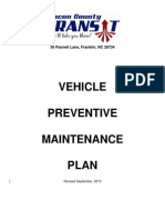 Section 5 - Maintenance Plan - Revised 2015 Track