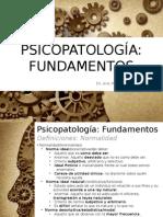 PSICOPATOLOGIA FUNDAMENTOS