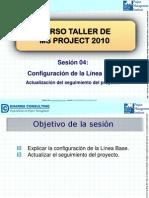 Configuracion de La Linea Base MSProject 2010