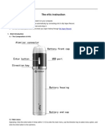 Joyetech e Vic Manual