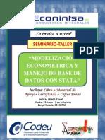 Contenido Del Curso Modelizacion Econometrica y Manejo de Bases de Datos Con Stata