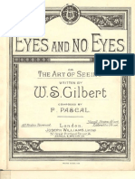 Eyes and No Eyes by W.S.Gilbert