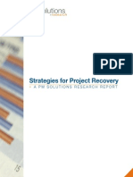 Strategies for Project Recovery 2011