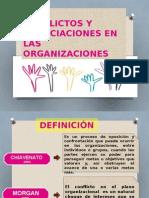 Conflicto y Negociacion de Las Organizaciones