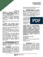 Advocacia Pública - Matheus Carvalho - 2015