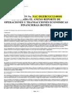 Res. NAC-DGERCGC12-00101 Aprueba Anexo ROTEF (Reformada Diciembre 2015)