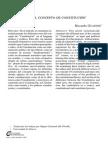 Concepto de Constitución, Ricardo Guastini