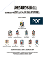 Plan Metropolitano 2021