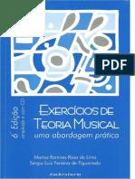 Exercicios de Teoria Musica - Uma Abordagem Prática- Parte1