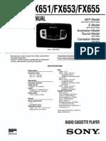 WM-FX651 Y 653