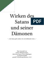 Wirken des Satans und seiner Dämonen