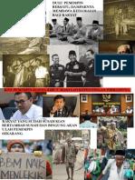 Pemimpin Indonesia Dahulu dan Sekarang