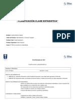 Planificacion Clase Estadistica