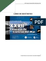 (32) XXXII Congreso de Ciencias Del Mar 2012