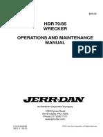 Manual Operación Jerrdan HDR 7085