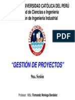 9a. Sesión - ToC Aplicado a Gestión de Proyectos
