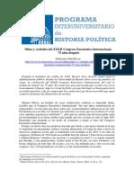 Mitos y verdades del XXXII Congreso Eucarístico Internacional,   75 años después
