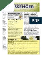 Messenger 3-20-15