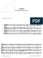 Byrd Misa a Cuatro