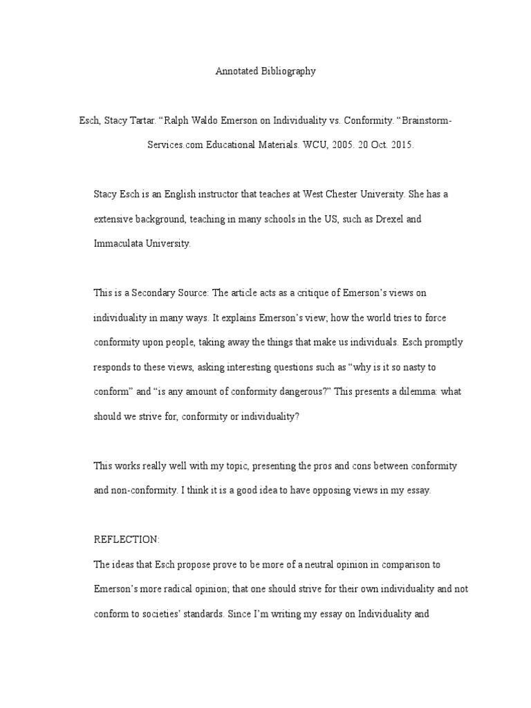 ralph waldo emerson writing style