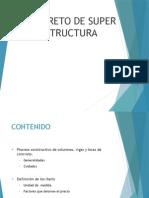 Concreto superestructura