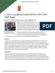 create engaging presentations with free ipad apps   edutopia