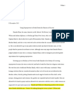 portfolio progression 2 final draft english115