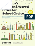 America's Best and Worst Cities for School Choice