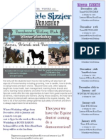 Winter Newsletter 2015