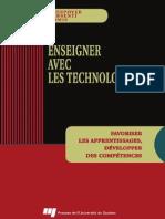 Christian Depover, Thierry Karsenti, Vassilis Komis-Enseigner Avec Les Technologies _ Favoriser Les Apprentissages, Développer Des Compétences (2007)