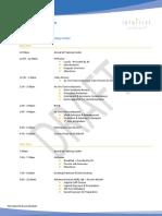Dr. Culligan's TR300.SC.Si Course Agenda