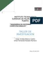 Cuestionario Investigacion 1