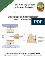 002 - Ciclos de Refrigeración - Problemas a Resolver